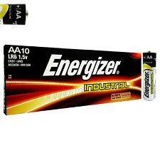 10 x Energizer AA batteries Industrial 1.5V LR6 EN91 AM3 MN1500 MIGNON