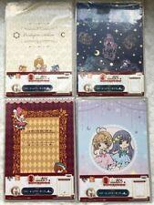 Cardcaptor Sakura Fortune Magic Prize G Stationery Notebook Clear File Set of 4