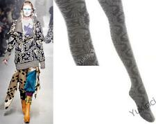 Vivienne Westwood Japan 70 Denier Tights Orb Parrot Rope Heart -Grey- Size M-L