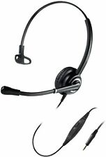 MAIRDI Mono 3.5mm Call Centre Headset with Microphone