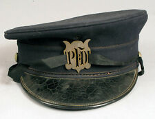 ANTIQUE PROVIDENCE FIRE DEPARTMENT UNIFORM HAT PFD RARE EARLY RI RHODE ISLAND !!