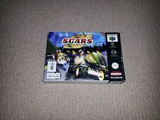 SCARS Nintendo 64 N64 Game PAL Boxed, Cleaned & Tested S.C.A.R.S