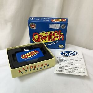 Maureen Hiron's Qwitch The Quick-Switch Game By OUT OF THE BOX 2002 Complete