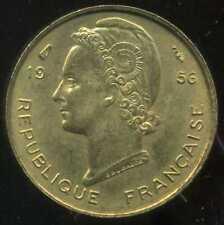 AFRIQUE occidentale francaise  5 francs 1956  ( SPL )