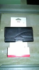 VERIZON SMARTPHONE POUCH, Quality Leather, ATTACHES TO YOUR BELT NEAR MINT!!