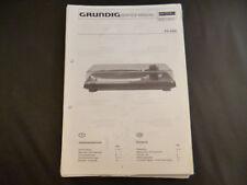 Original Service Manual Grundig PS 4300
