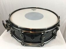 "Used Mapex Black Panther Black Widow Series 14"" X 5"" Deep Snare Drum Maple Shell"