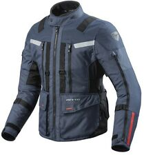 GIACCA JACKET MOTO REV'IT REVIT SAND 3 TRE STRATI BLU BLUE IMPERMEABILE H2O M