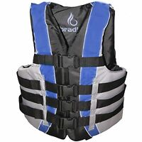 Bradley Adult L / XL  Life Jacket Fully Enclosed Coast Guard PFD Ski Vest New