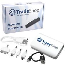 USB Power Bank 6600mah móviles batería móvil cargador para ZTE mf60 mf62