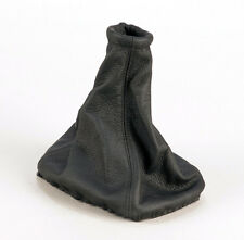 Genuine Leather Gear Shift Boot Gaiter Cover Sleeve fit Ford Escort MK5 MK6 MK7