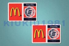 Fa charité shiled McDonald's soccer manches 2007-2009 patch / Badge
