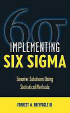 USED (GD) Implementing Six Sigma: Smarter Solutions Using Statistical Methods