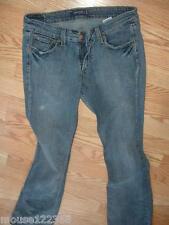 Levi 518 Blue denim Jeans Size 9 M Stretch Superlow stretch