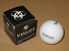 Resident evil Biohazard promotional Golf Ball Capcom