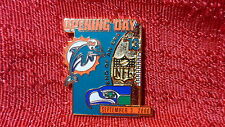 Miami Dolphins 2000 Opening Day Vs Seattle Seahawks Ld Ed Num Pin Marino End Era