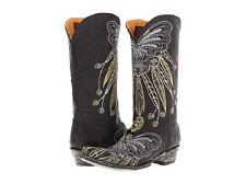 NUOVO in scatola Old Gringo Lakota Nero L1135-3 linea Donna Stivali Da Cowboy $570 al dettaglio