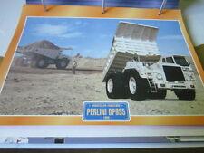 Super Trucks Baustellen LKW Italien Perlini DP955, 1988