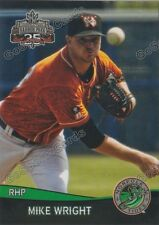 2017 Norfolk Tides Mike Wright RC Rookie Baltimore Orioles