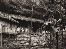 1906 Vintage CHINA TSING CHENG Chapel Men Mountain Fine Photo Art By BOERSCHMAN