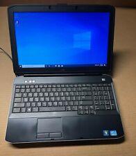 #175181 Dell Latitude E5530 i5-3230 @ 2.6Ghz - 250GB HDD 4GB RAM 1366X768 Win 10