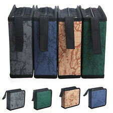 40 Disc Sleeve CD DVD Portable Storage Case Cover Wallet Hard Box Bag Holder