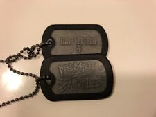 Battlefield 4 PREPARE FOR BATTLE Dog Tags Silver Color