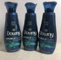 3 Bottles Downy Wrinkle Guard WrinkleGuard Fabric Conditioner Softener 25 OZ Ea