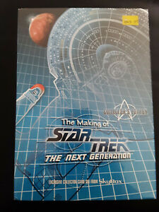 Star Trek: The Making of the Next Generation Sealed Trading Card Box