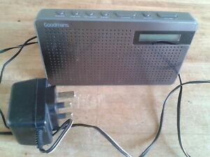 DAB/FM Radio, Goodmans Model - GMR1886DAB. Mains or Battery. Good working order.