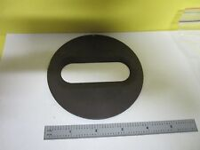 MICROSCOPE PART STAGE PLATE FOR SPECIMENT BIN#T9-29