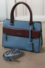 MODALU Erin Ladies Blue Leather Tote Bag (RRP£199) Used twice