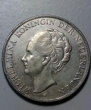 Netherlands 1931 2 1/2 Gulden *Nice Silver Coin* High Grade No Reserve!!