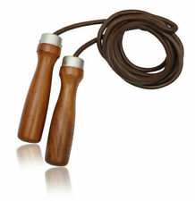 Pro Leather Skipping Speed Rope Fitness Boxing Jump Gym By Athletics Gear
