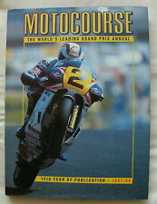 MOTOCOURSE 1987/88 MOTOR CYCLE RACING REVIEW OF THE YEAR BOOK WAYNE GARDNER