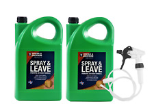 Spray and Leave Spear & Jackson 2 x 5L Ready to Use + Long Hose Trigger