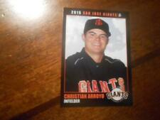 2015 SAN JOSE GIANTS Single Cards YOU PICK FROM LIST $1 to $3 each OBO