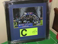 Leicester City Wes Morgan Signed & Framed 2013/14 Match Worn League Champions