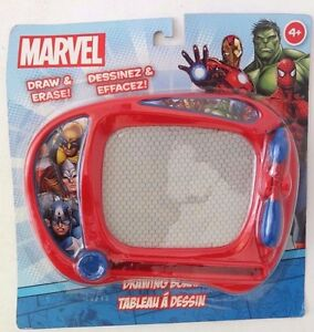 "Marvel Avenegers Assemble 6"" Long Draw & Erase Drawing Board NEW"