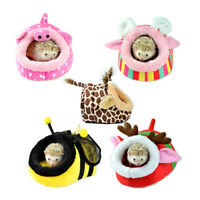 Small Animal House Soft Cushion Bed Pet Pad Cage for Hamster hedgehog Rabbit