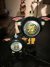 Lot Of 2 VTG Power Rangers Zeo Warrior Wheel Megazord & Mini Bandai 1996 Deluxe