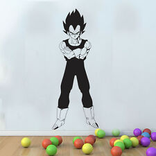 grande Dragon Ball Z VEGETA SAIYAN SERIE Mural Decoración Pared Aplicador Gratis