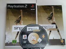Singstar Legends für PS2 und PS3, OVP-Box und Anleitungsheft