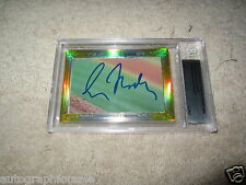 Greg Maddux John Smoltz 2014 Leaf Masterpiece Cut Signature auto card 1/1 Braves