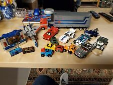 Vintage G1 Transformers Lot Includes Optimus Starscream Sideswipe Jazz and other