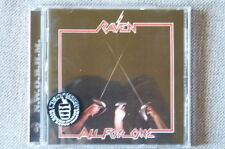 RAVEN -  ALL FOR ONE CD NWOBHM Udo Dirkschneider 2002