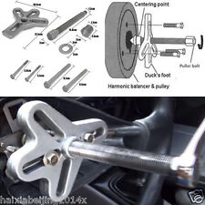 23 X Portable Car Offroad Harmonic Balancer Steering Wheel Puller Crankshaft Kit