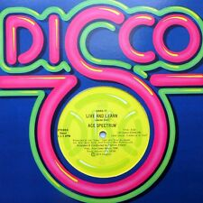 """ACE SPECTRUM mint minus promo DSKO 77 12"""" LIVE AND LEARN 5:50 double-A side GL46"""