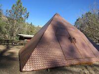 100% copper meditationpyramid Giza new