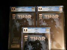 Thor #5 CGC 9.8 Third 3rd Print Variant - 1st Black Winter - THREE COPIES!!!